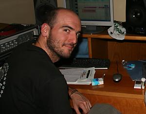 David Garrido. Ingeniero de sonido.
